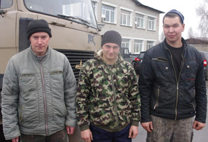 Дмитрий Гречухин, Михаил Ухов, Роман Груздев.