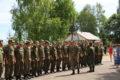 Церемония награждения губернатором Сергеем Ситниковым военнослужащих мостостроительного батальона