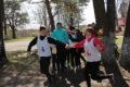 Легкоатлетическая эстафета в канун Дня Победы