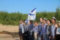 Во славу моряков: над Унжей подняли андреевский флаг